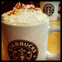 Could do with a Starbucks right now!