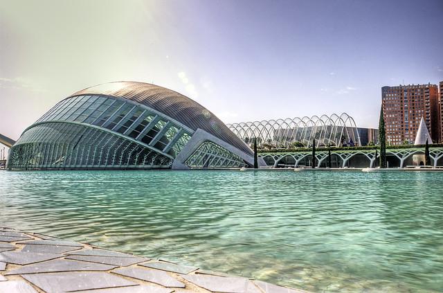 Valencia - Ciudad de las artes y las ciencias