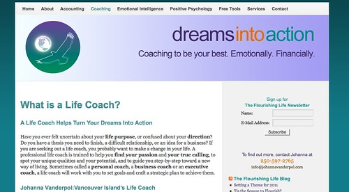 Dreams into Action Website