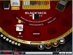 Blackjack 3 Hands