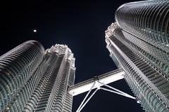 Petronas tower, Kuala lumpur (natssant) Tags: city tower asia south petronas twin east malaysia kuala kl klcc suria lumpur