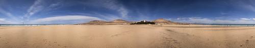 Marismas en el Parque Natural de Jandía, Pájara. Isla de Fuerteventura