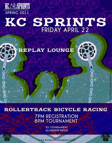 KC Sprints at the Replay Lounge flyer