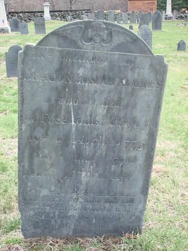 Deacon Josiah HAYNES by midgefrazel