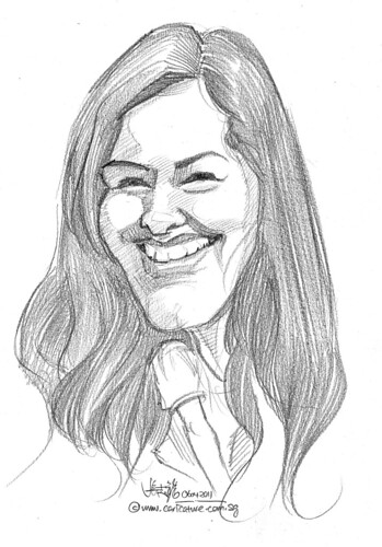 caricature in pencil - 27