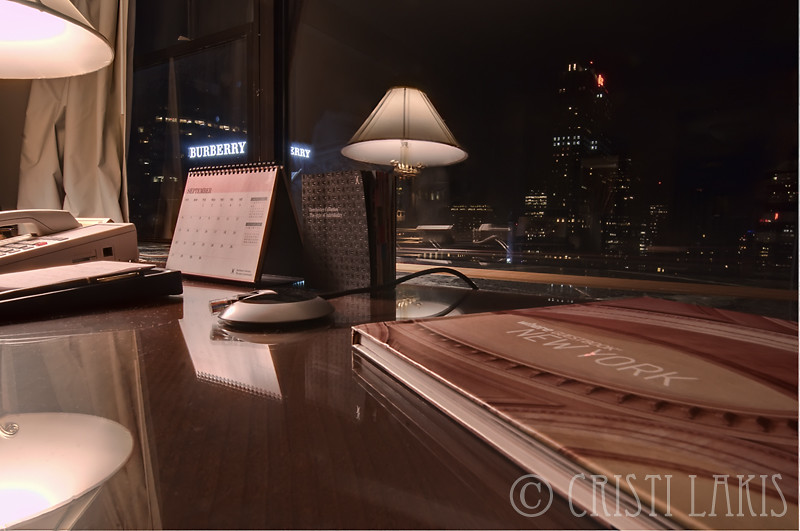 Waldorf=Astoria Hotel NYC; BURBERRY (Room with a View)