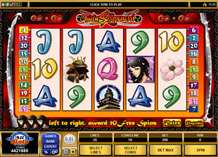 Twin Samurai slot game online review