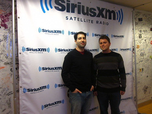 Marc & Shaun at SiriusXM