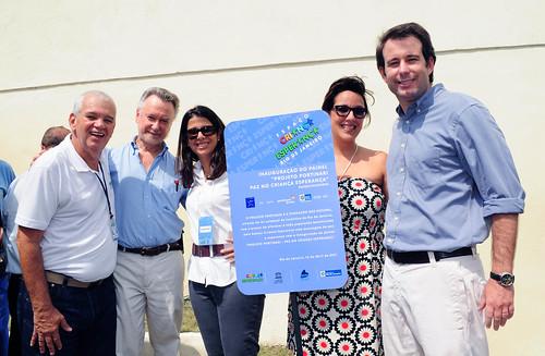 Criança Esperança - Rio ganha painel inspirado em obra de Portinari