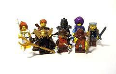 All Together - Alliance (Jackbrick101) Tags: world wow gnome lego dwarf warcraft fantasy knight warrior hunter priest magnus priestess draenei of jackbrick101 spellblade