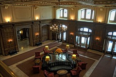 The lobby of the Chateau Laurier (beyondhue) Tags: ontario canada interior ottawa lobby laurier foyer entry fairmont chteau beyondhue