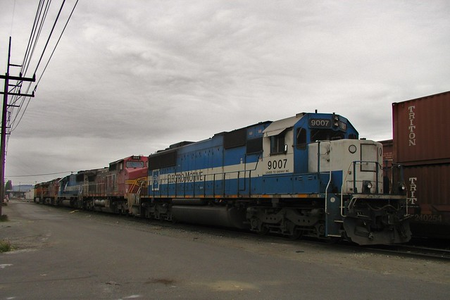 EMD SD60 at SODO, Seattle WA