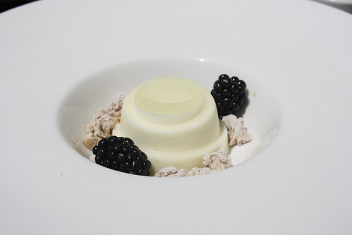 Buttermilk Panna Cotta at Vu