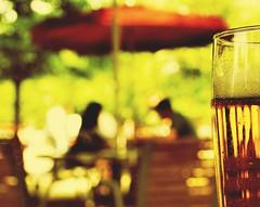 springtime in paris (fotobananas) Tags: park paris france macro beer pen spring drink bokeh olympus fresh monday hmm lager springtime biergarten ep1 1664 jardindestulleries fotobananas
