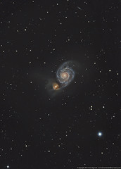 M51 The Whirlpool Galaxy LRGB (Terry Hancock www.downunderobservatory.com) Tags: camera sky field night canon stars photography mono pier backyard williams tech space shed images astro mount observatory telescope whirlpool galaxy german astrophotography canes terry orion modified astronomy imaging m51 hancock messier ccd universe rgb amateur wo cosmos gem equatorial constellation cge celestron paramount modded luminance xsi tmb astronomer teleskop astronomie byo f7 refractor deepsky 68mm venatici 450d autoguider flattener astrofotografie astrophotographer Astrometrydotnet:status=solved starshoot qhy5 130ss Astrometrydotnet:version=14400 at2ff mks4000 wotmb gt1100s qhy9m kaf8300 opticstmb Astrometrydotnet:id=alpha20110447078716