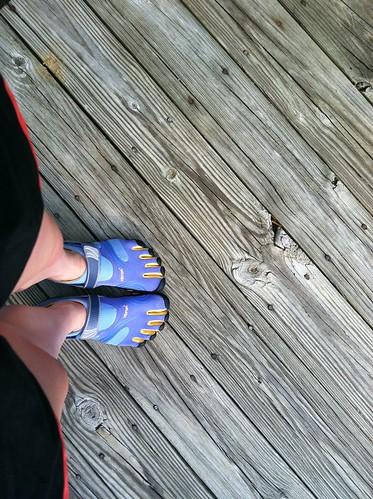 New feet!