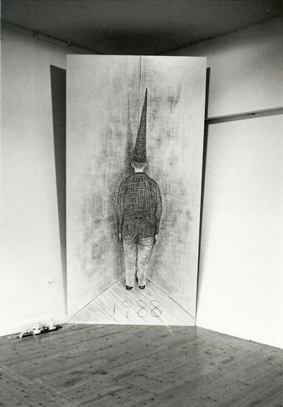 John Barbour-John de Silentio_Gertrude St_canvas in corner