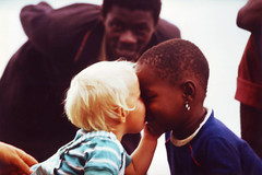 Black and White - Kids in the Congo, Africa - remastered. (cookiesound) Tags: trip travel vacation holiday travelling canon photography blackwhite reisen kiss fotografie urlaub canoneos reise travelphotography travelphotos reisefotografie schwarzweis kissingkids travelshots reisefotos kisskids reisetagebuch blackwhitechildren blackwhitekids blackandwhitekids reisebericht kissingchildren childreninafrica girlkissingboy cookiesound kisschildren kidscongo nisamaier childrencongo ulrikemaier whitegirlkissingblackboy blackboywhitegirl kidszaire whiteblackchild schwarzeweisekinder kisschild blackandwhitechildreninafrica glrfamily2011