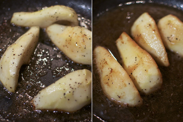 Sauteed Pork and Pears