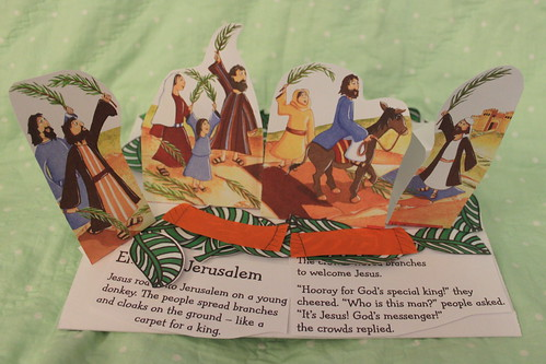 Palm Sunday book craft