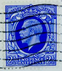 old stamp GB Great Britain 2.5d 2 1/2 D George V England 2 1/2 d 2.5d postage revenue two pence half penny UK United Kingdom Commonwealth bollo francobolli timbre Jorge V Reino Unido (stampolina - thx for sending stamps) Tags: blue portrait azul postes blauw blu stamps retrato stamp porto 25 blau portret timbre azzurro  niebieski mavi postage franco granbretagna  biru bleue selo bolli reinounido bl  sello asul sininen georgev 25d  briefmarken  markas      kk kinggeorgev frimrker  portr granbretaa timbreposte francobolli bollo   pullar  znaczki jorgev modr  frimaerke sellodecorreo azzur    muxanh   yupio postetimbre  blyegek postacreti selodecorreio