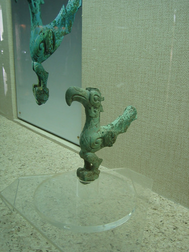 Bird, Bronze, Sanxingdui, Sichuan, China _4072