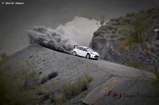 Ford Fiesta WRC, Mikko Hirvonen, Test Ford en Almería