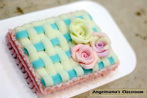天使媽媽蛋糕皂教學 003
