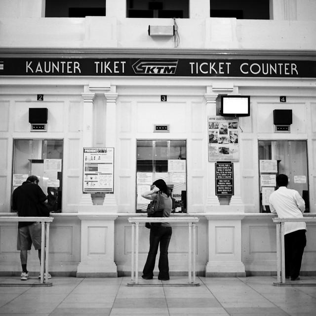 KTM Ticketing Counter