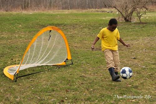 Easter Soccer.