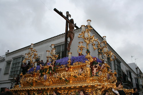 Santísimo Cristo de la Expiración. Procesión Magna del Santo Entierro. Sanlúcar de Barrameda, Sábado Santo 2011
