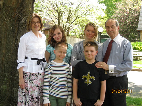 4/24/11:  Kids with the grands.