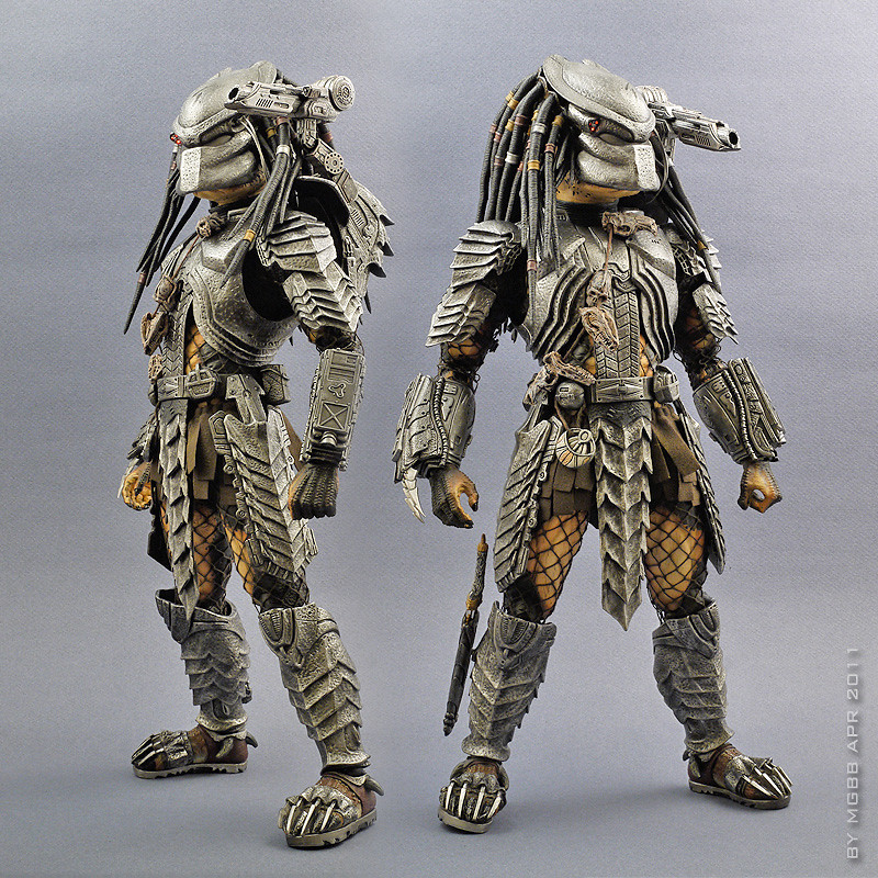 Predator 1/6th scale Scar Predator Collectible Figure [Archive] - Sideshow Freaks & Hot Toys - MMS190 - Alien vs. Predator: 1/6th scale Scar Predator ...