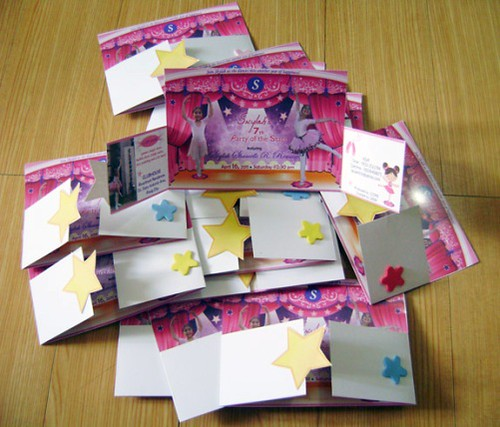 ballerina party,party-invitation