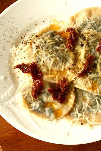 Portobello Mushroom & Sundried Tomato Whole Wheat Ravioli