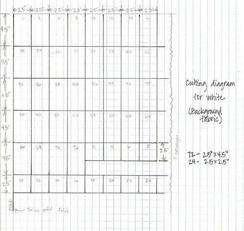 Mod Times Quilt Along - diagram 2