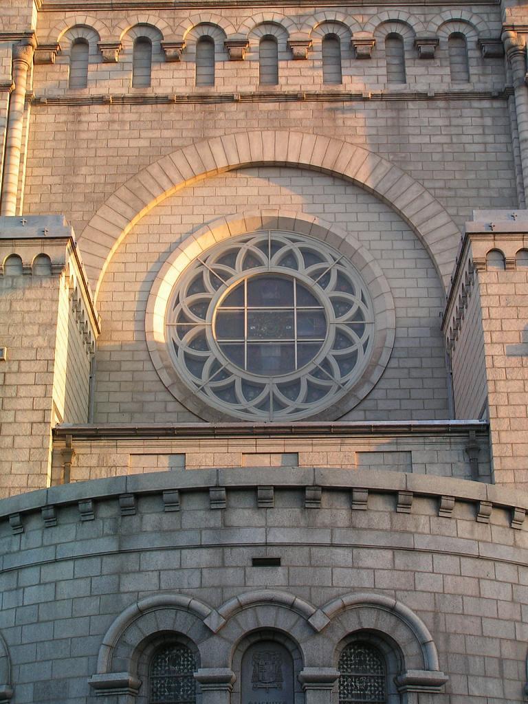 St Louis Basilica exterior detail