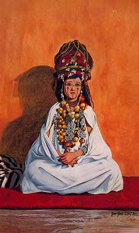 femme Ait Hadiddou