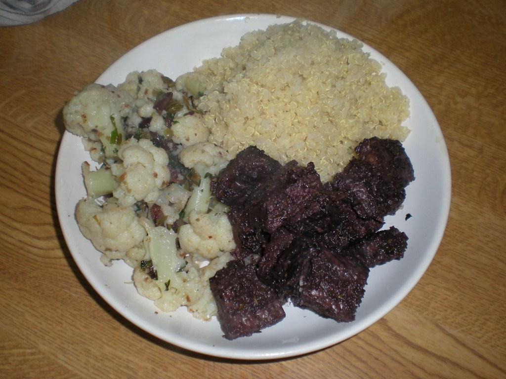 red wine and kalamata olive marintated tempeh