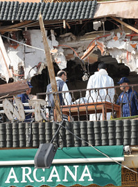 A bomb blast ripped through a restaurant in the North African state of Morocco in Marrakech on April 28, 2011. The Obama administration was quick to label the attack as terrorist related. by Pan-African News Wire File Photos