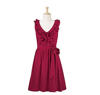 eShaki Ruffle Dress