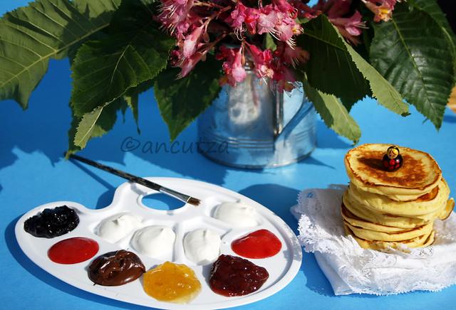 Pancakes alla ricotta ricetta con foto