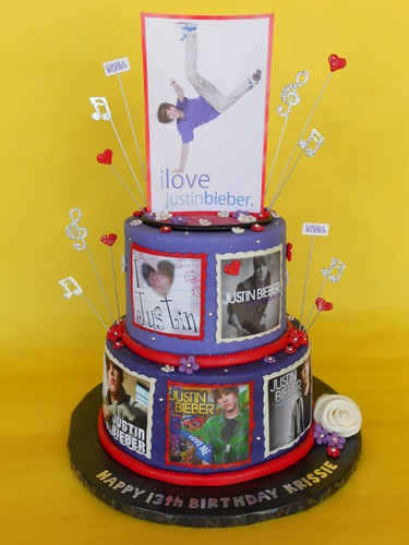 justin bieber fails at life. justin bieber birthday cakes.