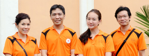 Nicole Seah with National Solidarity Party Volunteers by Yuan Sheng