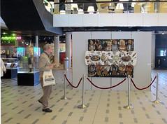 Exhibition at Bibliotheek Rotterdam (Enno de Kroon) Tags: art modern painting 3d recycled contemporary kunst recycledart foodart pintura overview expositie reuse tentoonstelling reciclaje cubista cubism malerei cubismo recyclart ricreazione cubisme kubismus schilderkunst eiercubisme eierkubismus eggcubism ennodekroon bibliotheekrotterdam villageparty papierkunst trashreuse  eggboxart artrecycl