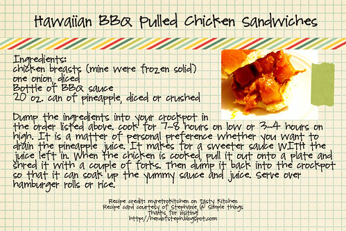 HawaiianBBQPulledchicken
