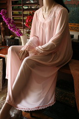 Shadowline Peachy Pink Silky Nylon Nightgown Close Up Front Left Draped (mondas66) Tags: ruffles lace silk romantic elegant ornate lacy nylon silky nightgown frilly nightgowns elegance nightdress ruffle nightwear silken frills frill ruffled nightie shadowline lacework frilled nighties nightdresses befrilled
