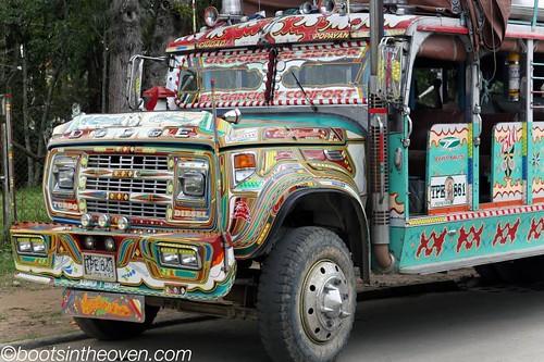 Bus, Popayan