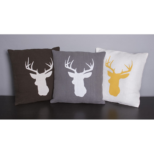 Stag Deer Pillow Covers