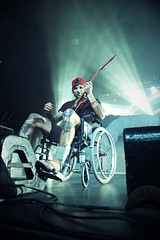 Parkway Drive (jms) Tags: rock drive concert guitar wheelchair parkway pavilion metalcore brokenankle hordern lukekilpatrick